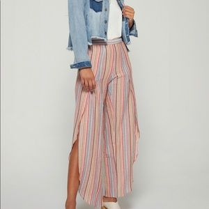 NWT Anthropologie Drew Whitney Striped Linen Pants